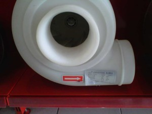 Exhaust Blower Lemari Asam / Centrifugal Blower PP  (Polypropylene)