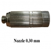 Nozzle anti dirt