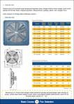 Exhaust Fan Standard Cooling