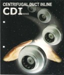 Duct centrifugal inline CDI