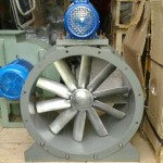 Exhaust Axial Fan Pulley Blower